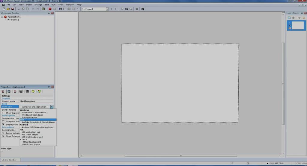 Clickteam 2.5 - скриншот 2