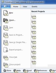 Скриншот Construct 2
